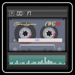 Captura 1 de Cassette - theme for CarWebGuru launcher para android