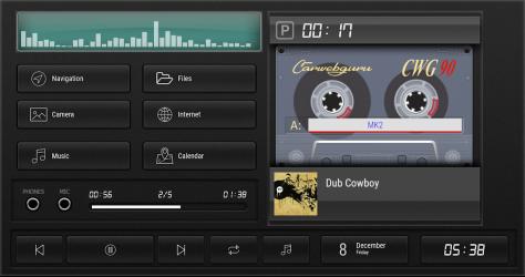 Imágen 3 de Cassette - theme for CarWebGuru launcher para android
