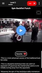 Screenshot 8 de KickBoxing Training - Offline Videos para android