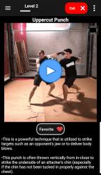 Captura de Pantalla 5 de KickBoxing Training - Offline Videos para android