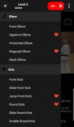 Screenshot 11 de KickBoxing Training - Offline Videos para android