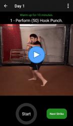 Captura de Pantalla 10 de KickBoxing Training - Offline Videos para android
