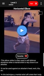 Screenshot 6 de KickBoxing Training - Offline Videos para android