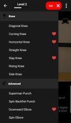 Screenshot 14 de KickBoxing Training - Offline Videos para android