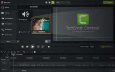 Screenshot 2 de Camtasia para windows