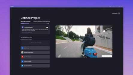 Captura de Pantalla 5 de Clipchamp - Editor de vídeo para windows