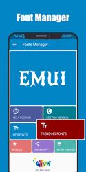 Captura de Pantalla 2 de Fonts for Huawei Emui para android