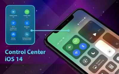Screenshot 10 de Phone 12 Launcher, OS 14 iLauncher, Control Center para android