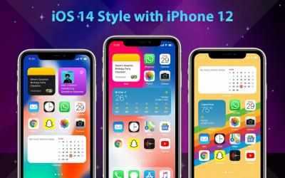 Captura 12 de Phone 12 Launcher, OS 14 iLauncher, Control Center para android