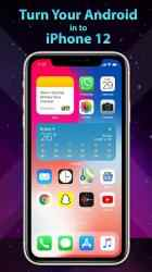 Imágen 2 de Phone 12 Launcher, OS 14 iLauncher, Control Center para android
