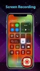Captura 8 de Phone 12 Launcher, OS 14 iLauncher, Control Center para android