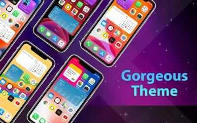Imágen 14 de Phone 12 Launcher, OS 14 iLauncher, Control Center para android
