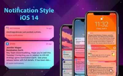 Captura de Pantalla 11 de Phone 12 Launcher, OS 14 iLauncher, Control Center para android