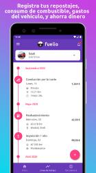 Captura de Pantalla 3 de Fuelio: Combustible y gastos para android