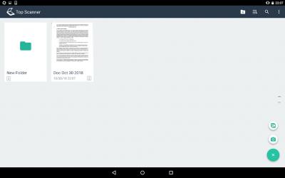 Screenshot 14 de Top Scanner - Free PDF Scanner App para android