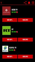 Screenshot 5 de Canales EC - Televisión Ecuatoriana Gratis para android