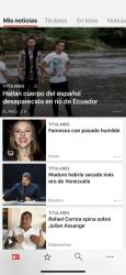 Captura de Pantalla 1 de Microsoft News: Noticias para iphone