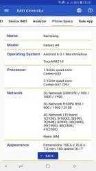 Captura 6 de IMEI Generator Pro para android