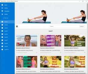 Captura 2 de Stay At Home - Resistance Bands Workouts para windows