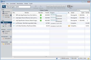 Screenshot 2 de Vuze para windows