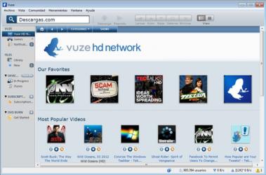 Screenshot 3 de Vuze para windows