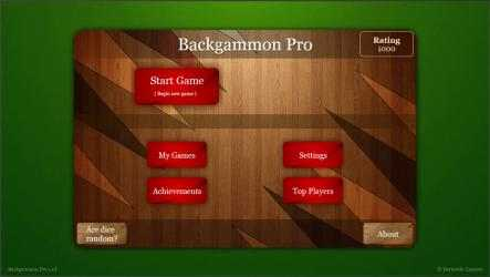 Captura 6 de Backgammon Pro para windows