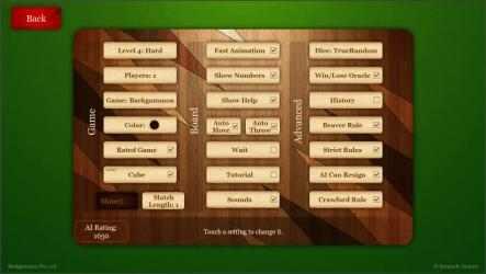 Imágen 2 de Backgammon Pro para windows