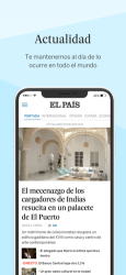Captura 1 de EL PAÍS para iphone