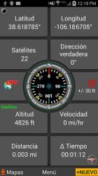 Captura de Pantalla 3 de Polaris Navegación GPS para android