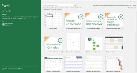Imágen 1 de Microsoft Excel para windows