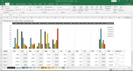 Captura de Pantalla 4 de Microsoft Excel para windows