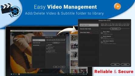 Captura de Pantalla 7 de CnX Media Player - 4K UHD & HDR Video Player para windows