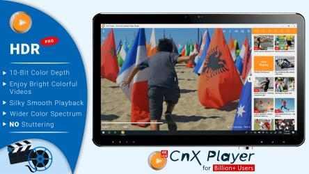 Screenshot 1 de CnX Media Player - 4K UHD & HDR Video Player para windows