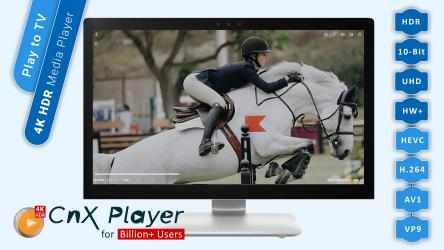 Screenshot 2 de CnX Media Player - 4K UHD & HDR Video Player para windows