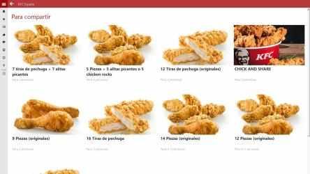 Captura de Pantalla 1 de KFC España para windows