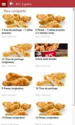 Captura de Pantalla 4 de KFC España para windows