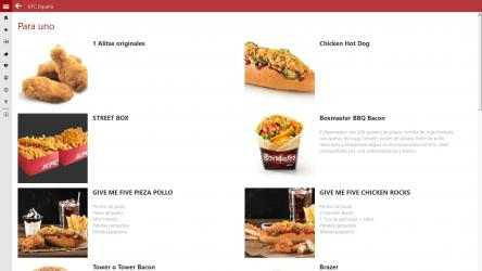 Captura 2 de KFC España para windows