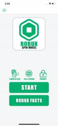 Captura de Pantalla 1 de Robux Spin Wheel for Roblox para iphone
