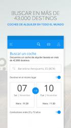 Screenshot 2 de Rentalcars.com Alquiler Coches para android