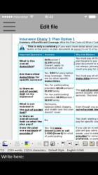 Imágen 2 de GlobalOffice Suite para LibreOffice xls, doc y odp para iphone