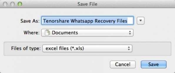 Screenshot 3 de Free WhatsApp Recovery for Mac para mac