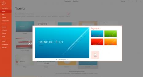 Captura 3 de Microsoft Office 2016 para windows