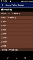 Screenshot 3 de Beauty Parlour Complete Course para android