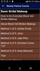 Screenshot 14 de Beauty Parlour Complete Course para android