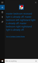 Captura de Pantalla 1 de Premise Control Home with Cortana para windows