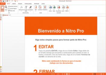 Captura 5 de Nitro Pro para windows