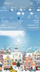 Screenshot 5 de Clima preciso 🌈 YoWindow + Fondos de pantalla para android