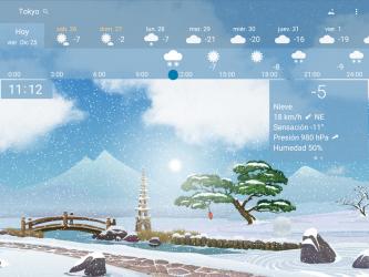 Captura 14 de Clima preciso 🌈 YoWindow + Fondos de pantalla para android