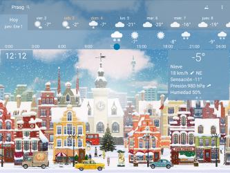 Captura de Pantalla 11 de Clima preciso 🌈 YoWindow + Fondos de pantalla para android