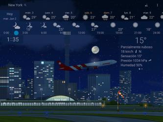Screenshot 12 de Clima preciso 🌈 YoWindow + Fondos de pantalla para android